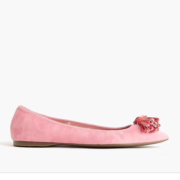 9125a15ea4a NIB J.Crew Lottie Rose Ice Pink Flats